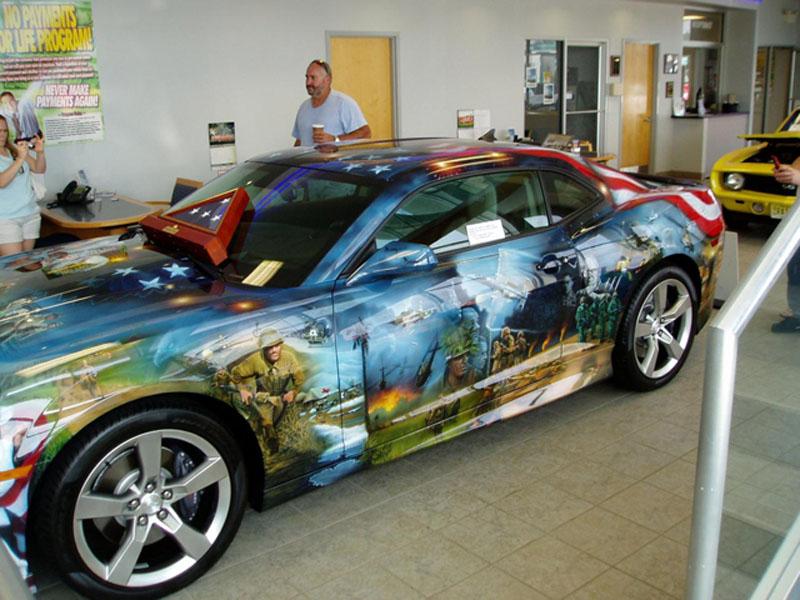 Bennett Chevrolet Car Show