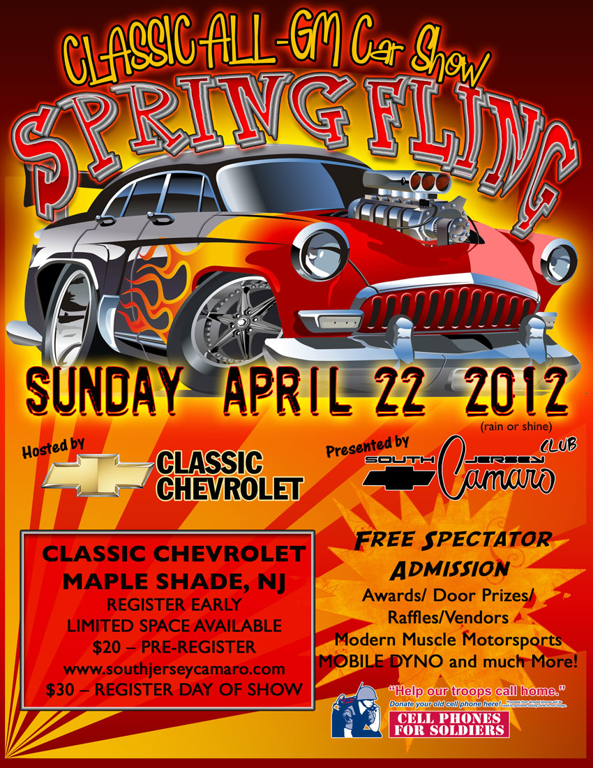 CLASSIC ALL-GM SPRING FLING CAR SHOW