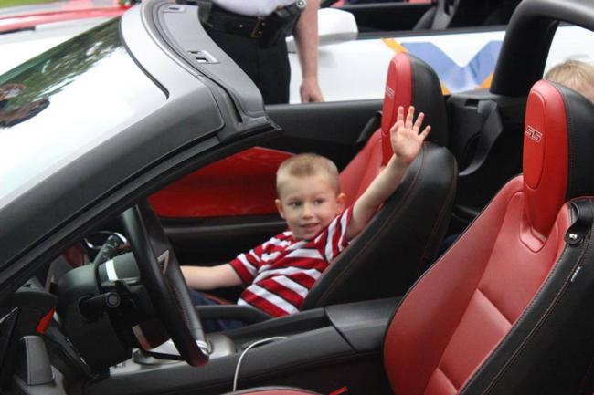 TJ picks his favorite Camaro!